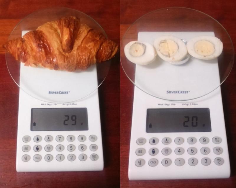 calorias croissant mixto