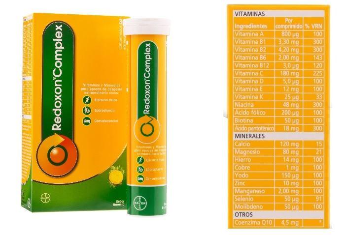 redoxon vitamina c ingredientes)