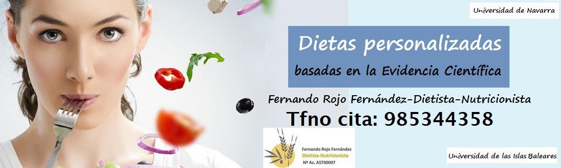 Centro Salud Nutricional, consulta privada de Fernando Rojo Fernández, dietista-nutricionista, dietas personalizadas en Gijón, Asturias
