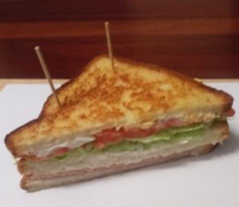 calorias de un sandwich vegetal